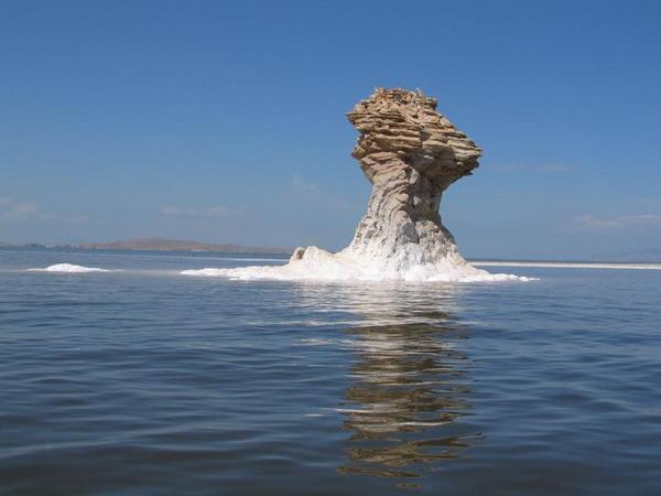 Oroumieh Lake - N.W. Iran