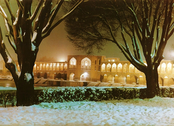 Winter night in Isfahan